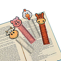 Farm Ruler Bookmarks