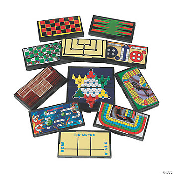 Magnetic Travel Games Oriental Trading
