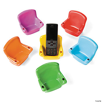 Relaxable Lounge Chair Phone Holders