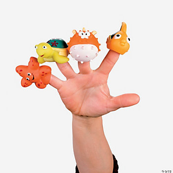 Sea Life Finger Puppets