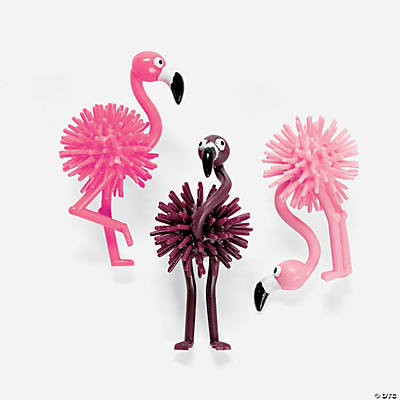Flamingo Porcupine Characters