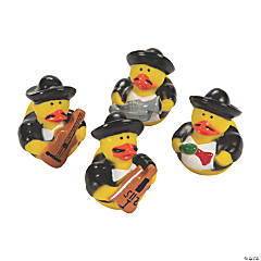 12 Mariachi Rubber Duckies