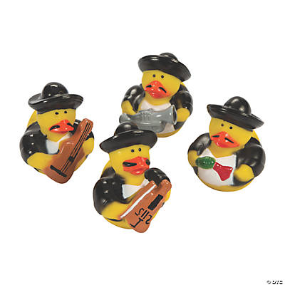 Mariachi Rubber Duckies