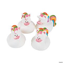 12 Unicorn Rubber Duckies