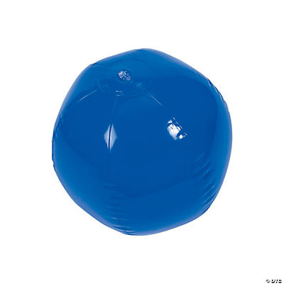 Blue Beach Ball
