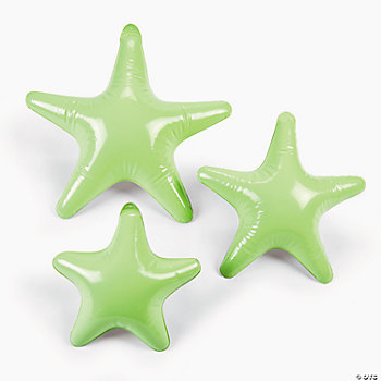 Inflatable Glow-In-The-Dark Hanging Stars