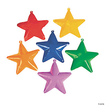 Inflatable Bright Hanging Stars