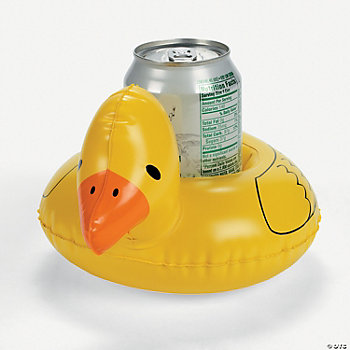 Inflatable Duck Coasters