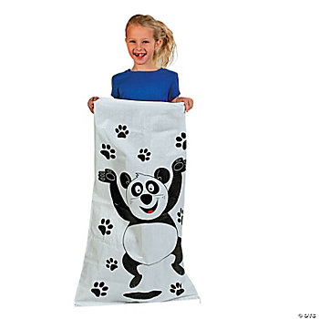 Panda Potato Sacks