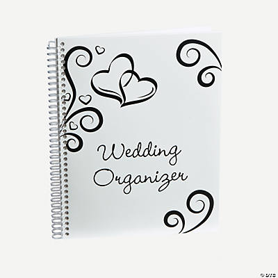 Two Hearts Wedding Organizer - 30 pgs.