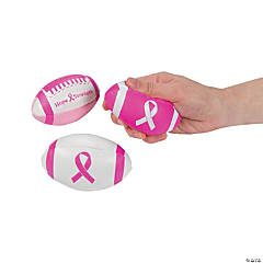 Breast Cancer Awareness Footballs