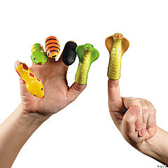 Snake Head Finger Puppets