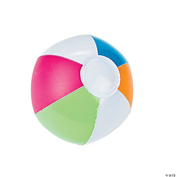 Inflatable Mini Spring Brights Beach Balls