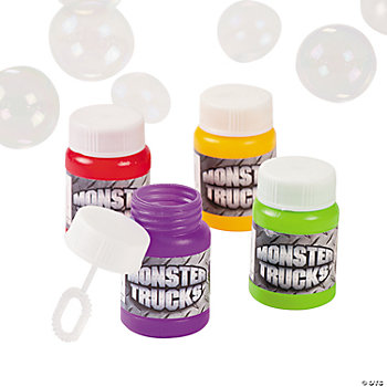 Monster Truck Bubble Bottles