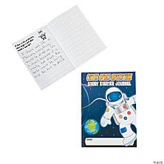 "12 ""Outer Space Adventure"" Story Starter Journals"