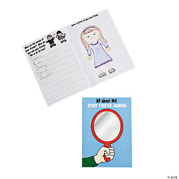 "12 ""All About Me!"" Story Starter Journals"