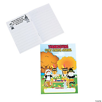 """Thanksgiving Story Starter Journals"""