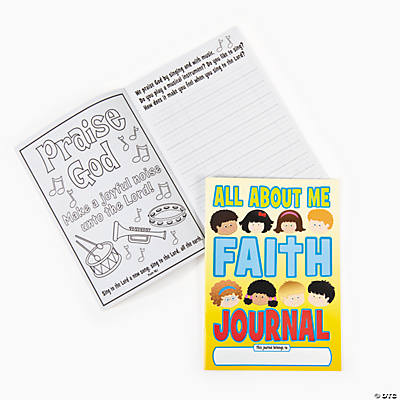 """All About Me"" Faith Journals"