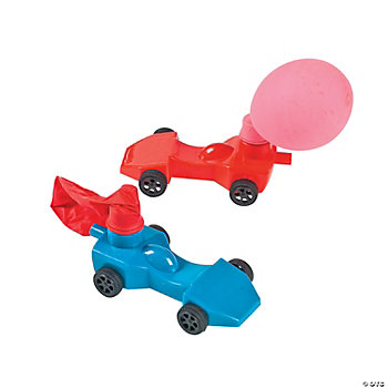 Derby Car Balloon Racers