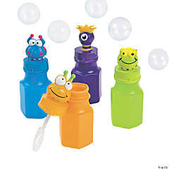 Monster Character Bubbles