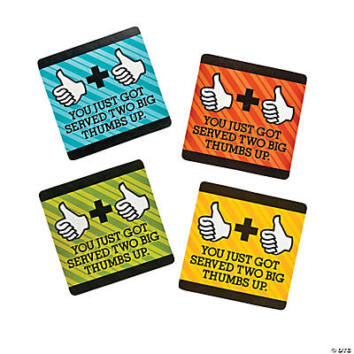 Office Thumbs Up Recognition Cards