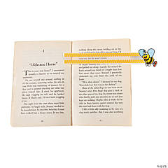 Plastic Bee Reading Guides