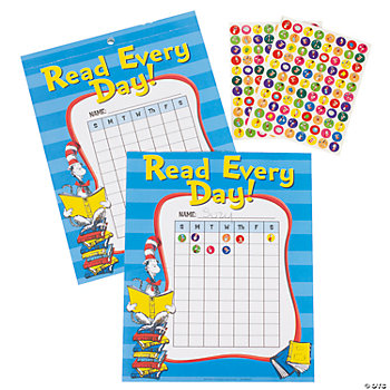 Dr. Seuss™ Reading Charts