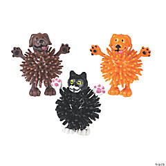 Dog & Cat Porcupine Characters