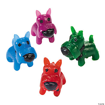 Mini Bright Scottie Dogs