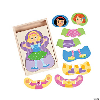 Dress-Up Girl Puzzle