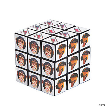 Crazy Face Magic Cubes
