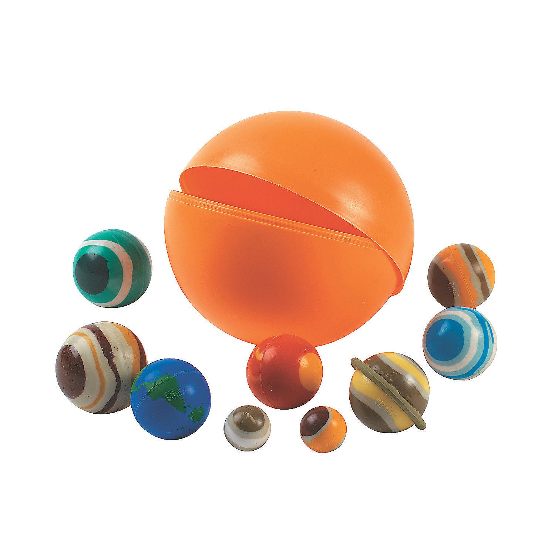 10 Solar System Bouncing Balls - Oriental Trading ...