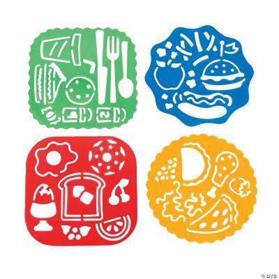 Plate & Food Die Cut Stencils