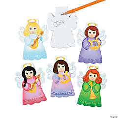 Angel Die Cut Notepads