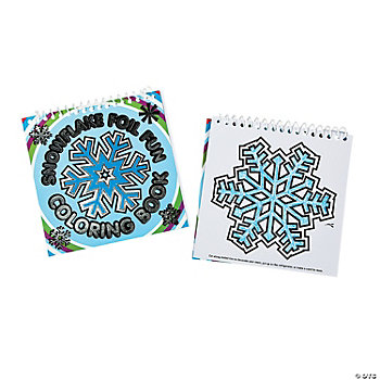 Snowflake Foil Fun Coloring Books