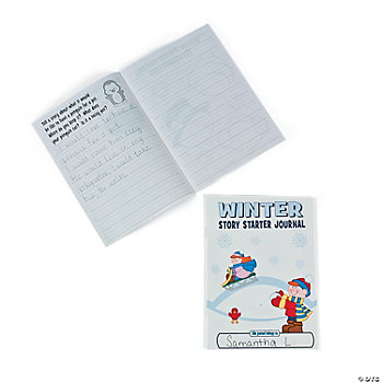 """Winter"" Story Starter Journals"