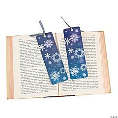 Snowflake Prism Bookmarks