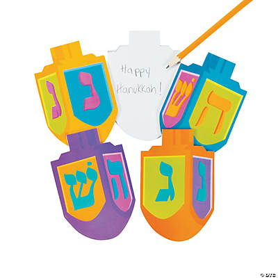 Dreidel Die Cut Notepads