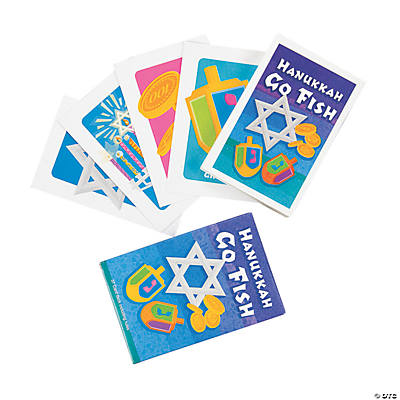 """Hanukkah Go Fish!"" Cards"