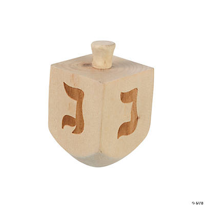 Dreidel Spinning Tops