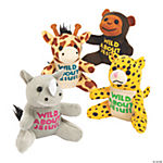 "Plush ""Wild About Jesus"" Safari Animals"
