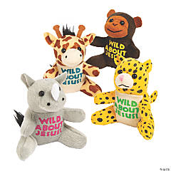Wild About Jesus Safari Stuffed Animals
