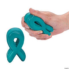 Teal Awareness Ribbon Relaxables