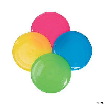 Bright Color Flying Disks