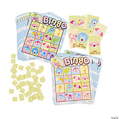 Wild Safari Baby Shower Bingo Set