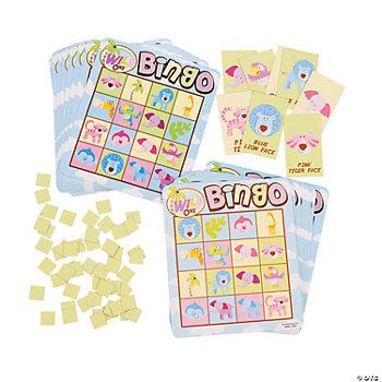 wild safari baby shower bingo game oriental trading discontinued