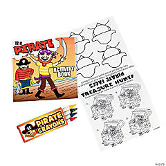 Treasure Hunt Activity Books With Crayons