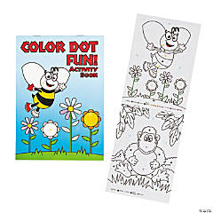 Color Dot Activity Books
