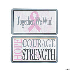 Pink Ribbon Wallet Cards
