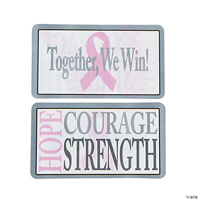 Breast Cancer Awareness Wallet Cards